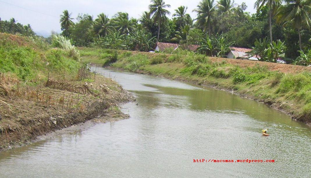 Sungai merupakan jalan air alami laluan melalui sungai merupakan cara